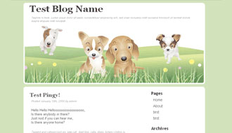 Furry Friends WordPress Theme