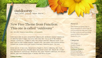 Outdoorsy WordPress Theme
