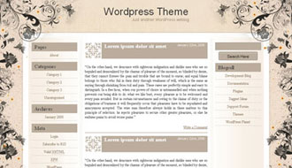Floralicious WordPress Theme