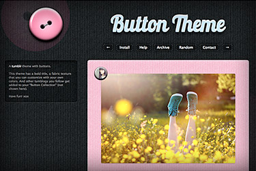 Button Tumblr Theme