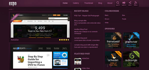 Expo WordPress Theme
