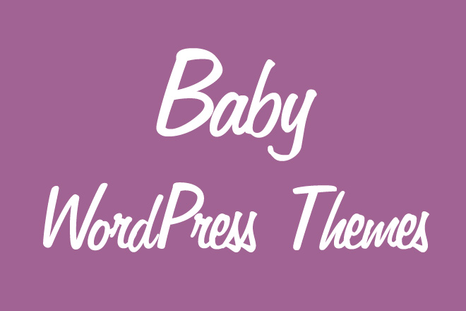 Baby WordPress Themes