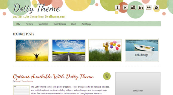 Dotty WordPress Theme