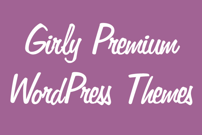 Girly Premium WordPress Themes