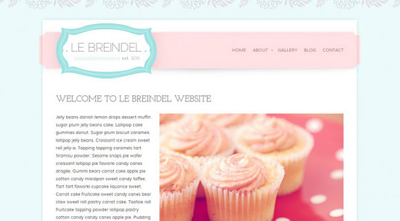 Le Breindel WordPress Theme