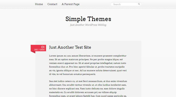 Pink Touch WordPress Theme