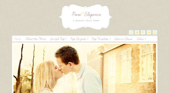 Pure Elegance WordPress Theme