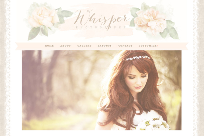 Whisper WordPress Theme
